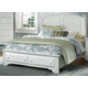 All-American Hamilton/Franklin Full Panel Storage Bed in Snow White