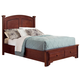 All-American Hamilton/Franklin Queen Panel Storage Bed in Cherry