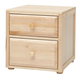 Maxtrix 2 Drawer Nightstand without Crown and Base in Natural 4220-001