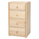 Maxtrix 4.5 Drawer Chest without Crown and Base in Natural 4245-001