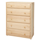 Maxtrix 5 Drawer Chest without Crown and Base in Natural 4250-001
