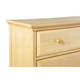 Maxtrix Crown and Base Kit for 3 Drawer Dresser, 4 Drawer Chest and 5 Drawer Chest in Natural 5050-001