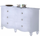 New Classic Victoria Youth Dresser in White Finish 05-621 -052