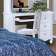 New Classic Victoria Youth Desk in White Finish 05-621 -091