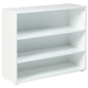 Maxtrix 3 Shelf Bookcase without Crown and Base in White 4720-002