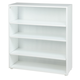 Maxtrix 4 Shelf Bookcase without Crown and Base in White 4740-002