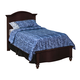 New Classic Victoria Youth Twin Panel Bed in Espresso Finish 05-623-510