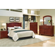 Vaughan-Basset Hamilton/Franklin Panel Bedroom Set C in Cherry