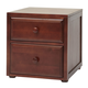 Maxtrix 2 Drawer Nightstand without Crown and Base in Chestnut 4220-003