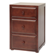 Maxtrix 3.5 Drawer Nightstand without Crown and Base in Chestnut 4235-003