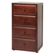 Maxtrix 4.5 Drawer Chest without Crown and Base in Chestnut 4245-003