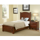 All-American Hamilton/Franklin Panel Storage Bedroom Set in Cherry