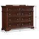 Klaussner San Marcos Dresser 872-650