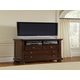 All-American Muse 2-Drawer Entertainment Center in Dark Cherry