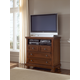 All-American Reflections 2-Drawer Entertainment Center in Medium Cherry