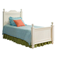 Legacy Classic Kids Summer Breeze Twin Low Poster Bed