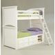 Legacy Classic Kids Summer Breeze Bunk Bed w/ Underbed Storage Bedroom Set