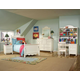Legacy Classic Kids Summer Breeze Scroll Top Low Poster Bed w/Underbed Storage Bedroom Set
