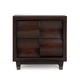 Magnussen Furniture Fuqua Drawer Nightstand in Black Cherry B1794-01
