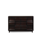 Magnussen Furniture Fuqua Drawer Dresser in Black Cherry B1794-20