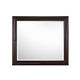 Magnussen Furniture Fuqua Landscape Mirror in Black Cherry