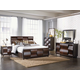 Magnussen Furniture Fuqua 4-Piece Panel Bedroom Set in Black Cherry