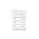 Magnussen Furniture Kasey Drawer Chest in White B2026-10