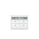 Magnussen Furniture Kasey Media Chest in White B2026-36