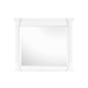 Magnussen Furniture Kasey Mirror in White B2026-40