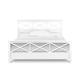 Magnussen Furniture Kasey Cal King Panel Bed in White B2026-74