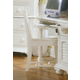 American Woodcrafters Cottage Traditions Desk Chair in Eggshell White 6510-774