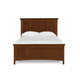Magnussen Furniture Next Generation Riley Twin Panel Bed with 2 Storage Rails in Cherry Y1873-5451