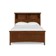 Magnussen Furniture Next Generation Riley Twin Bookcase Bed with 2 Storage Rails in Cherry Y1873-5851