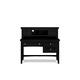 Magnussen Furniture Next Generation Bennett Desk with Hutch in Black Y1874-31