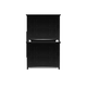 Magnussen Furniture Next Generation Bennett Twin over Twin Bunk Bed in Black Y1874-70