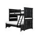 Magnussen Furniture Next Generation Bennett Twin over Full Bunk Bed in Black Y1874-71