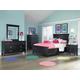 Magnussen Furniture Next Generation Bennett 4-Piece Panel Bedroom Set in Black