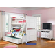 Magnussen Furniture Next Generation Kenley 4-Piece Bunk Bedroom Set in White