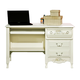 American Woodcrafters Summerset Collection 2-Drawer Computer Desk in Fresh White 67100-342