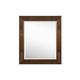 Magnussen Furniture Next Generation Twilight Portrait Mirror in Chestnut Y1876-42