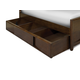 Magnussen Furniture Next Generation Twilight Trundle in Chestnut Y1876-90