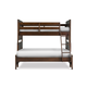 Magnussen Furniture Next Generation Twilight Twin over Full Bunk Bed in Chestnut Y1876-71