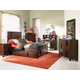 Magnussen Furniture Next Generation Twilight 4-Piece Panel Bedroom Set in Chestnut