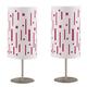 Puji Pink Metal Table Lamp (Set of 2) L823584