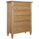 Kincaid Homecoming Solid Wood Drawer Chest in Vintage Pine 33-105