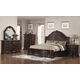 Samuel Lawrence Furniture Edington Sleigh Bedroom Set in European Cherry