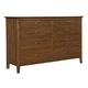 Kincaid Cherry Park Solid Wood Double Dresser 63-162
