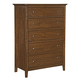 Kincaid Cherry Park Solid Wood Five Drawer Chest 63-105