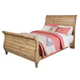 Kincaid Homecoming Solid Wood King Sleigh Bed in Vintage Pine 33-152P