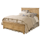 Kincaid Homecoming Solid Wood Panel Bedroom Set in Vintage Pine